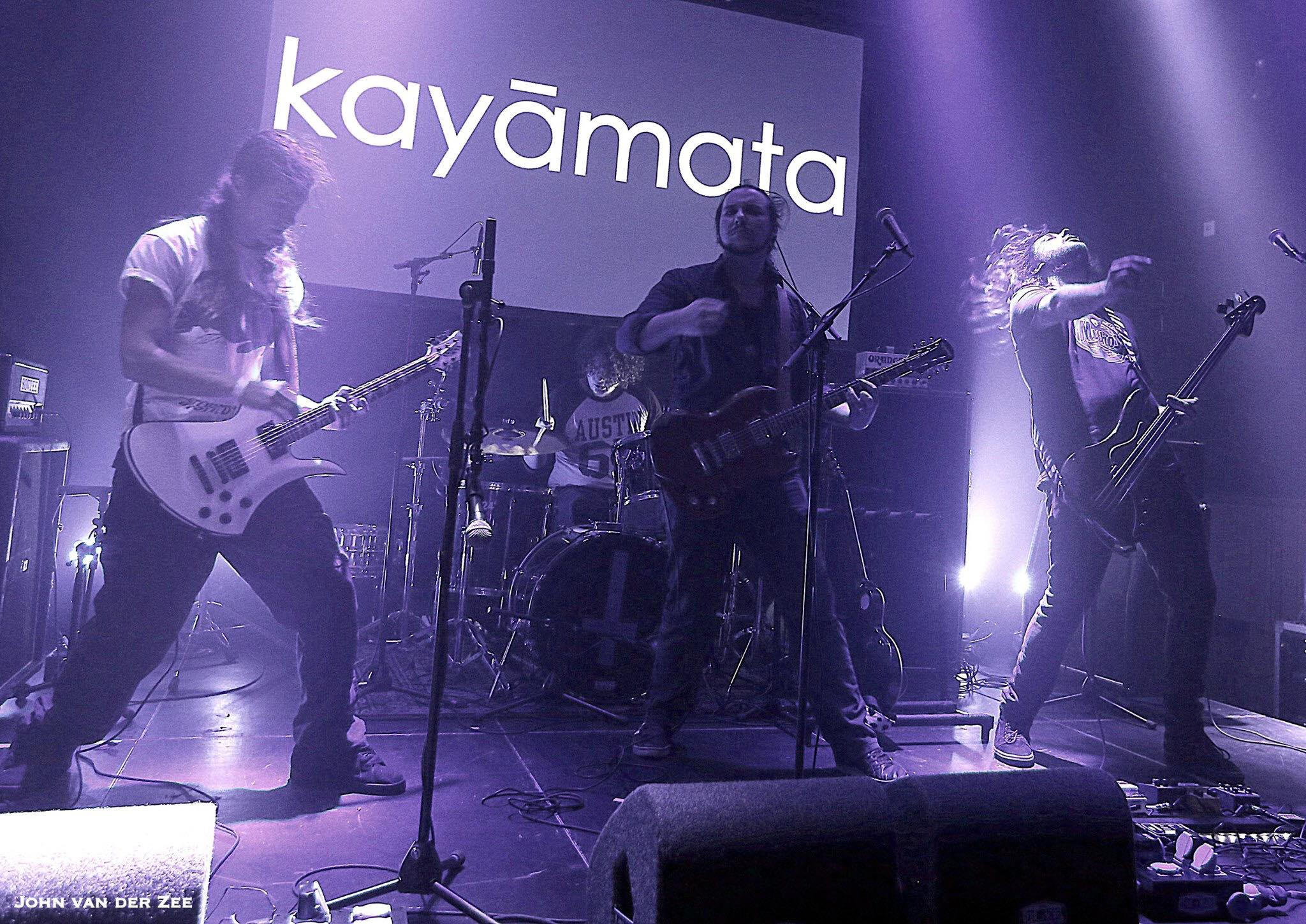 Kayamata supporting fellow band of friends Meadows @ Gebr. De Nobel in Leiden, Netherlands